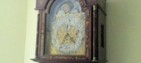 """Restored Tiffany Grandfather Clock """"As good as old!"""""""
