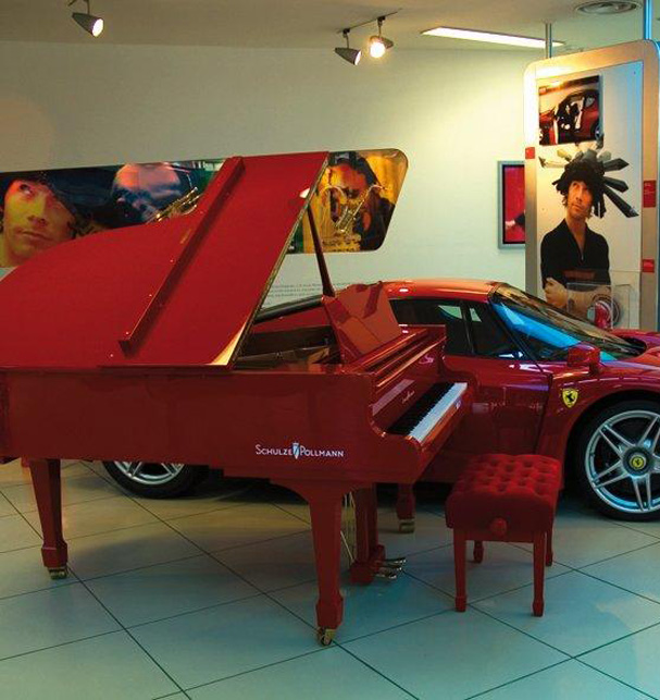 Schulze-Pollmann - The Ferrari of Pianos